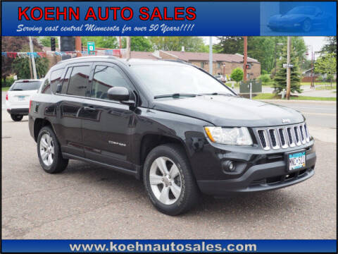 2013 Jeep Compass for sale at Koehn Auto Sales in Lindstrom MN