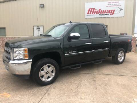 2013 Chevrolet Silverado 1500 for sale at Midway Motors in Conway AR