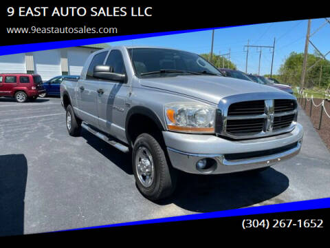 2006 Dodge Ram Pickup 1500 for sale at 9 EAST AUTO SALES LLC in Martinsburg WV