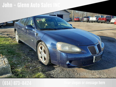 2007 Pontiac Grand Prix for sale at John - Glenn Auto Sales INC in Plain City OH