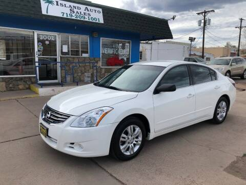 2011 Nissan Altima for sale at Island Auto Sales in Colorado Springs CO
