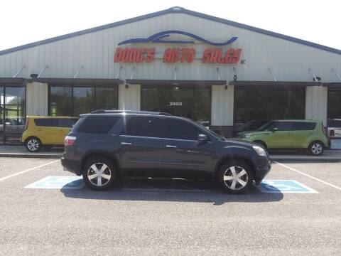 2011 GMC Acadia for sale at DOUG'S AUTO SALES INC in Pleasant View TN