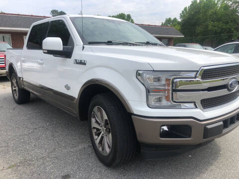 2019 Ford F-150 for sale at Creekside Automotive in Lexington NC