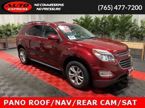 2017 Chevrolet Equinox for sale at Auto Express in Lafayette IN