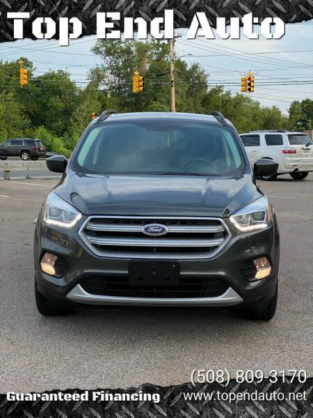 2017 Ford Escape for sale at Top End Auto in North Atteboro MA