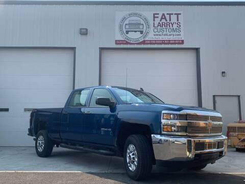 2017 Chevrolet Silverado 2500HD for sale at Fatt Larry's Customs in Sugar City ID