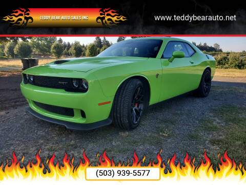 2015 Dodge Challenger for sale at Teddy Bear Auto Sales Inc in Portland OR