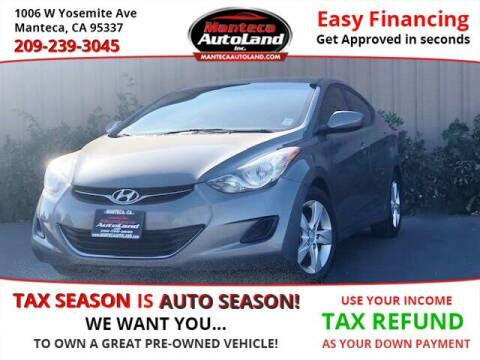 2013 Hyundai Elantra for sale at Manteca Auto Land in Manteca CA