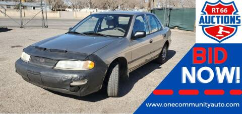1997 Kia Sephia for sale at One Community Auto LLC in Albuquerque NM