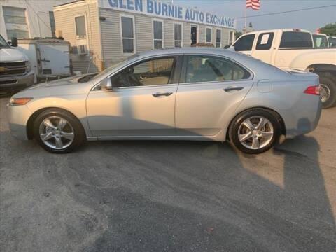 2012 Acura TSX for sale at Glen Burnie Auto Exchange in Glen Burnie MD