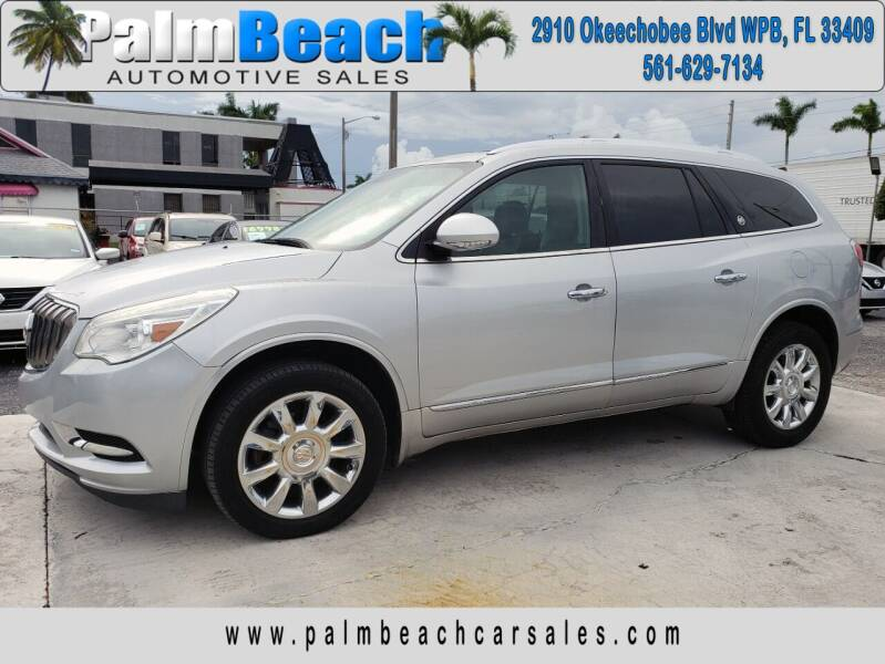 2013 Buick Enclave for sale at Palm Beach Automotive Sales in West Palm Beach FL