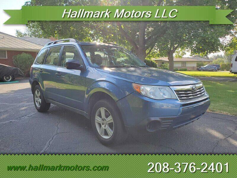 2010 Subaru Forester for sale at HALLMARK MOTORS LLC in Boise ID