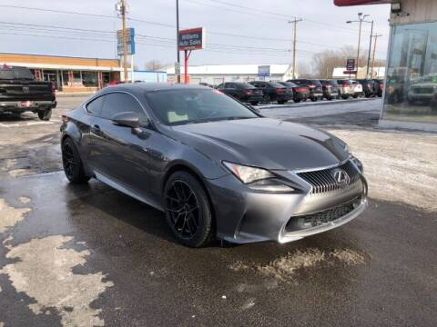 2015 Lexus RC 350 for sale at WILLIAMS AUTO SALES in Green Bay WI