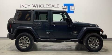 2008 Jeep Wrangler Unlimited for sale at Indy Wholesale Direct in Carmel IN