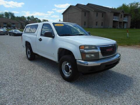 2006 GMC Canyon for sale at BABCOCK MOTORS INC in Orleans IN