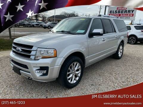 2015 Ford Expedition EL for sale at Jim Elsberry Auto Sales in Paris IL