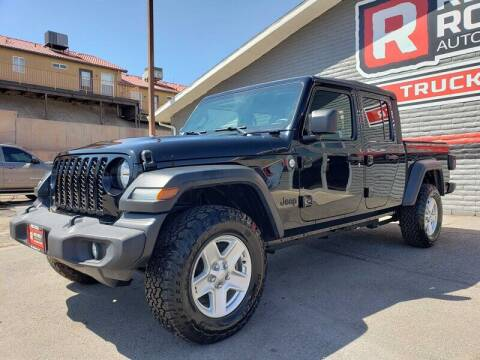 2020 Jeep Gladiator for sale at Red Rock Auto Sales in Saint George UT