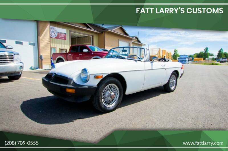 1979 MG MGB for sale at Fatt Larry's Customs - Classics/Projects in Sugar City ID