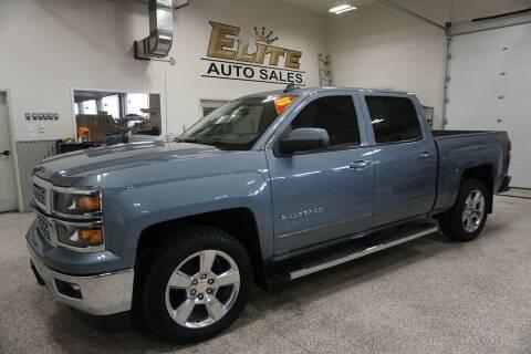 2015 Chevrolet Silverado 1500 for sale at Elite Auto Sales in Idaho Falls ID
