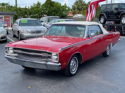 1969 Dodge Dart for sale at KD's Auto Sales in Pompano Beach FL