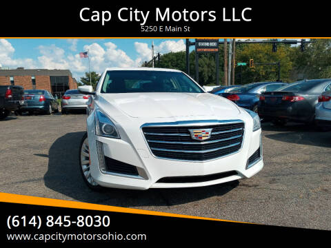 2016 Cadillac CTS for sale at Cap City Motors LLC in Columbus OH