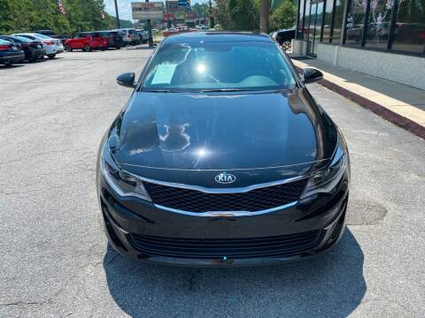 2017 Kia Optima for sale at J Franklin Auto Sales in Macon GA