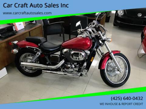2003 Honda Shadow for sale at Car Craft Auto Sales Inc in Lynnwood WA
