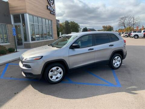 2016 Jeep Cherokee for sale at PRINCE MOTORS in Hudsonville MI