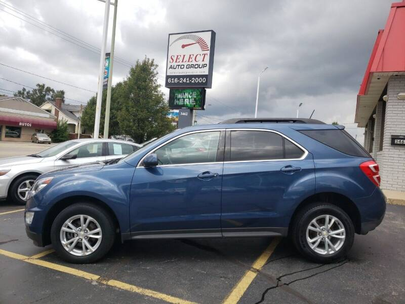 2016 Chevrolet Equinox for sale at Select Auto Group in Wyoming MI