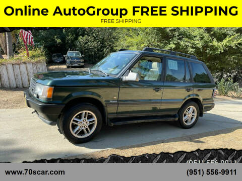 2000 Land Rover Range Rover for sale at Online AutoGroup FREE SHIPPING in Riverside CA