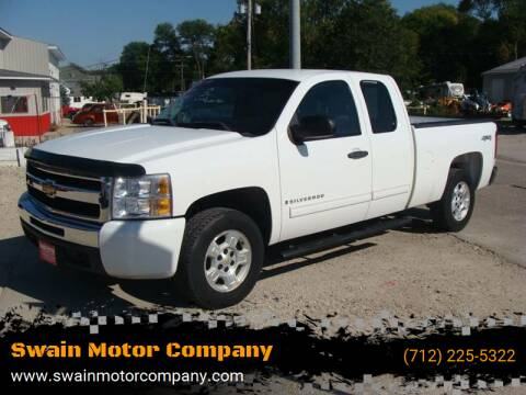 2009 Chevrolet Silverado 1500 for sale at Swain Motor Company in Cherokee IA