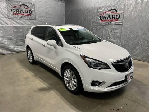 2019 Buick Envision for sale at GRAND AUTO SALES in Grand Island NE