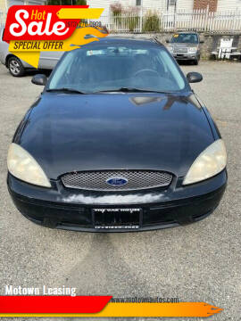2006 Ford Taurus for sale at Motown Leasing in Morristown NJ