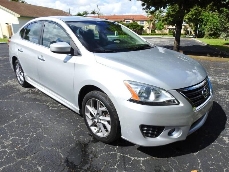 2014 Nissan Sentra for sale at SUPER DEAL MOTORS 441 in Hollywood FL