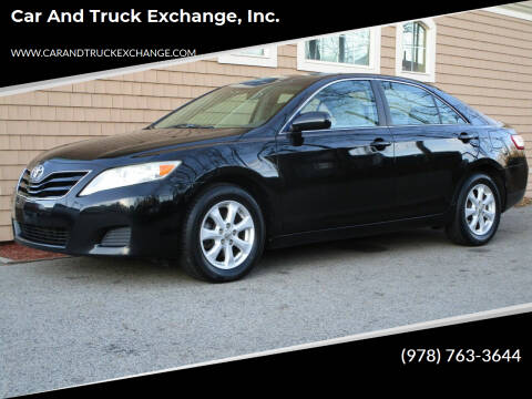 2011 Toyota Camry for sale at Car and Truck Exchange, Inc. in Rowley MA