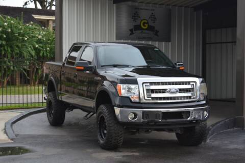 2012 Ford F-150 for sale at G MOTORS in Houston TX