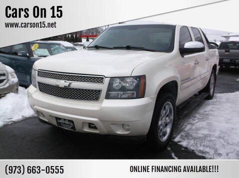 2008 Chevrolet Avalanche for sale at Cars On 15 in Lake Hopatcong NJ