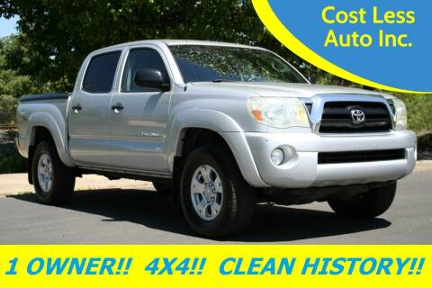2005 Toyota Tacoma for sale at Cost Less Auto Inc. in Rocklin CA