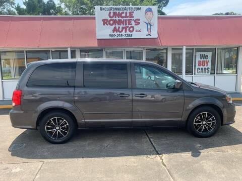 2015 Dodge Grand Caravan for sale at Uncle Ronnie's Auto LLC in Houma LA