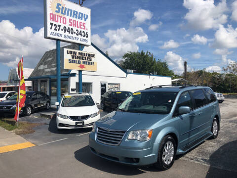 2010 Chrysler Town and Country for sale at Sunray Auto Sales Inc. in Holiday FL