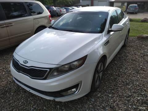 2012 Kia Optima Hybrid for sale at Seneca Motors, Inc. (Seneca PA) in Seneca PA