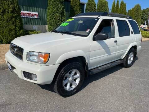 2004 Nissan Pathfinder for sale at AUTOTRACK INC in Mount Vernon WA