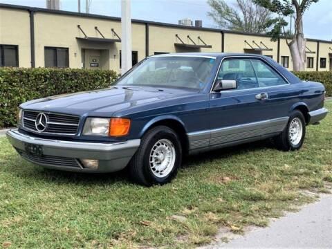 1984 Mercedes-Benz 500-Class for sale at A7 AUTO SALES in Daytona Beach FL