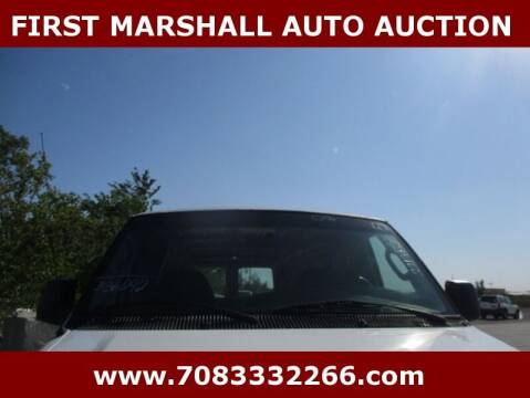 2008 Ford E-Series Cargo for sale at First Marshall Auto Auction in Harvey IL