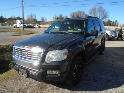 2007 Ford Explorer for sale at SCOTT HARRISON MOTOR CO in Houston TX