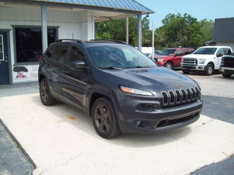 2016 Jeep Cherokee for sale at LONGSTREET AUTO in St Augustine FL
