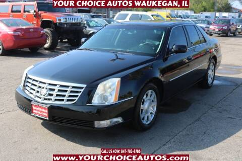 2011 Cadillac DTS for sale at Your Choice Autos - Waukegan in Waukegan IL
