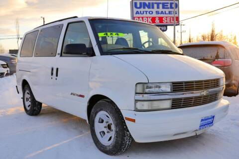 2002 Chevrolet Astro for sale at United Auto Sales in Anchorage AK