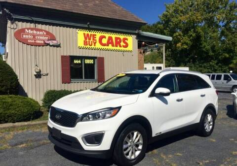 2016 Kia Sorento for sale at Mehan's Auto Center in Mechanicville NY