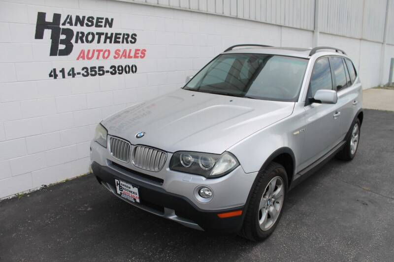 2007 BMW X3 for sale at HANSEN BROTHERS AUTO SALES in Milwaukee WI